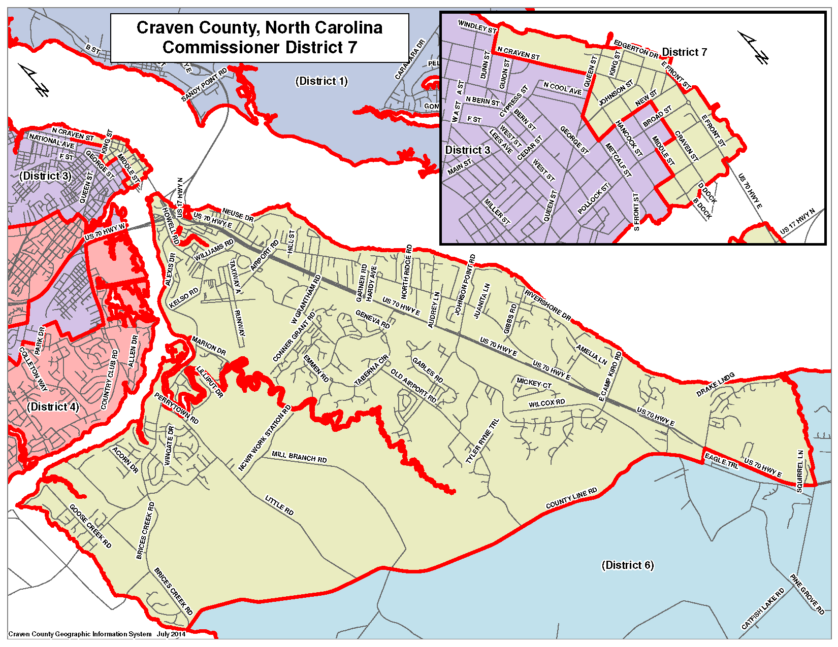 Commissioner District 7 Map