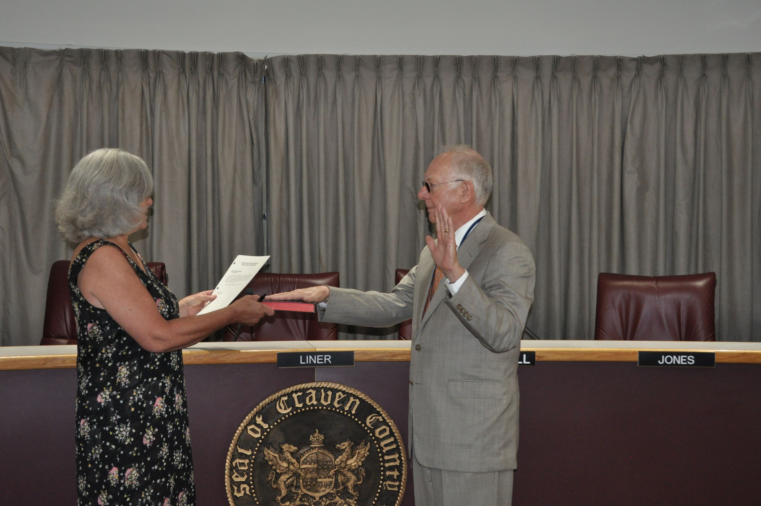Ronnie Antry Swearing In 7-2-19