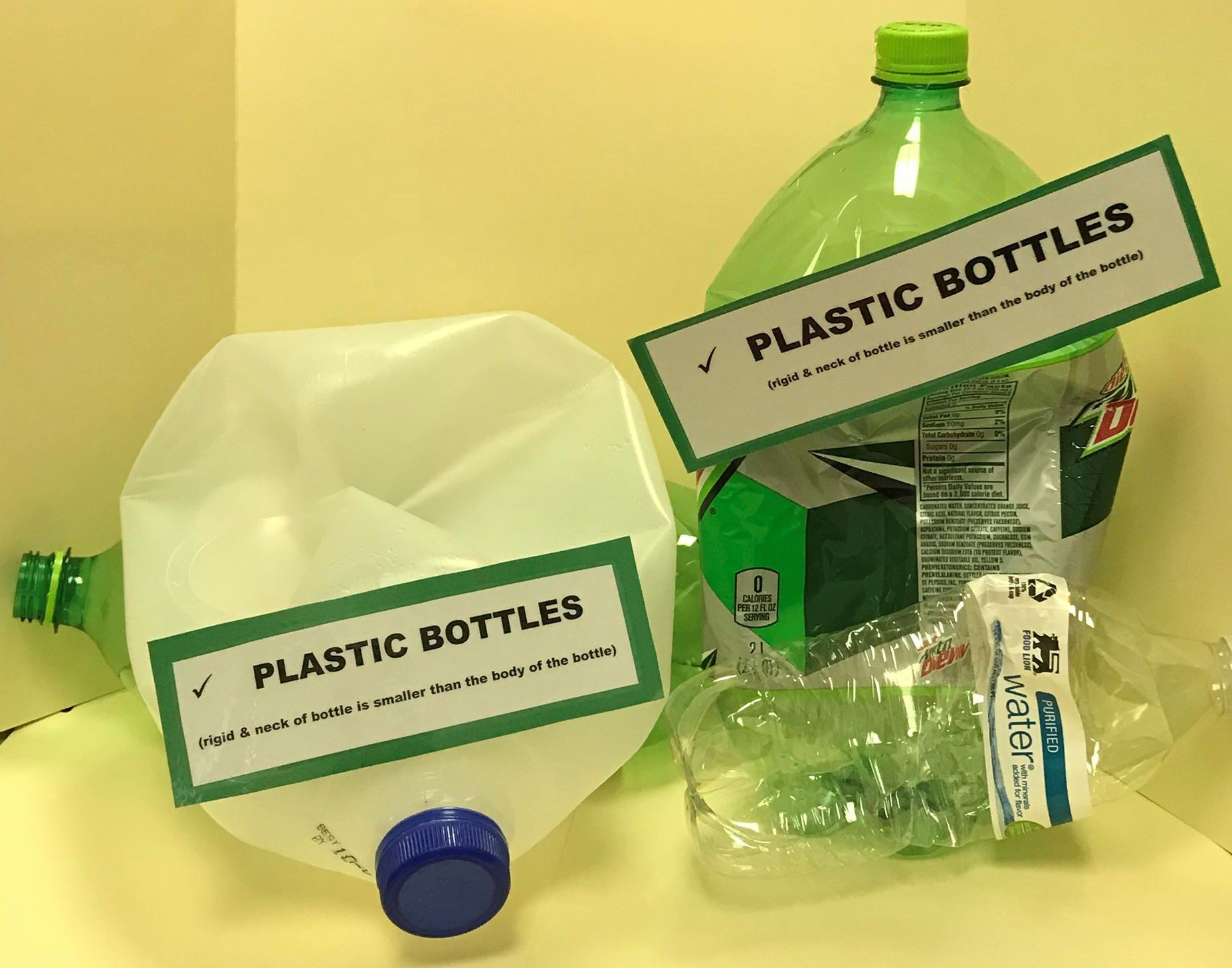 Rigid Plastic Bottles