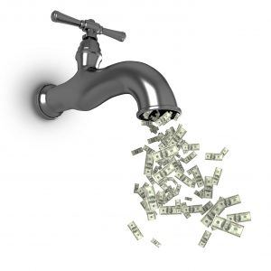 Water leaks can cost YOU and US!