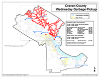 View the Wednesday Garbage Pickup Map Overview (PDF).
