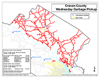 View the Wednesday Garbage Pickup Map Inset (PDF).