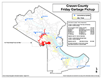 View the Friday Garbage Pickup Map Overview (PDF).