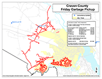 View the Friday Garbage Pickup Map Inset (PDF).