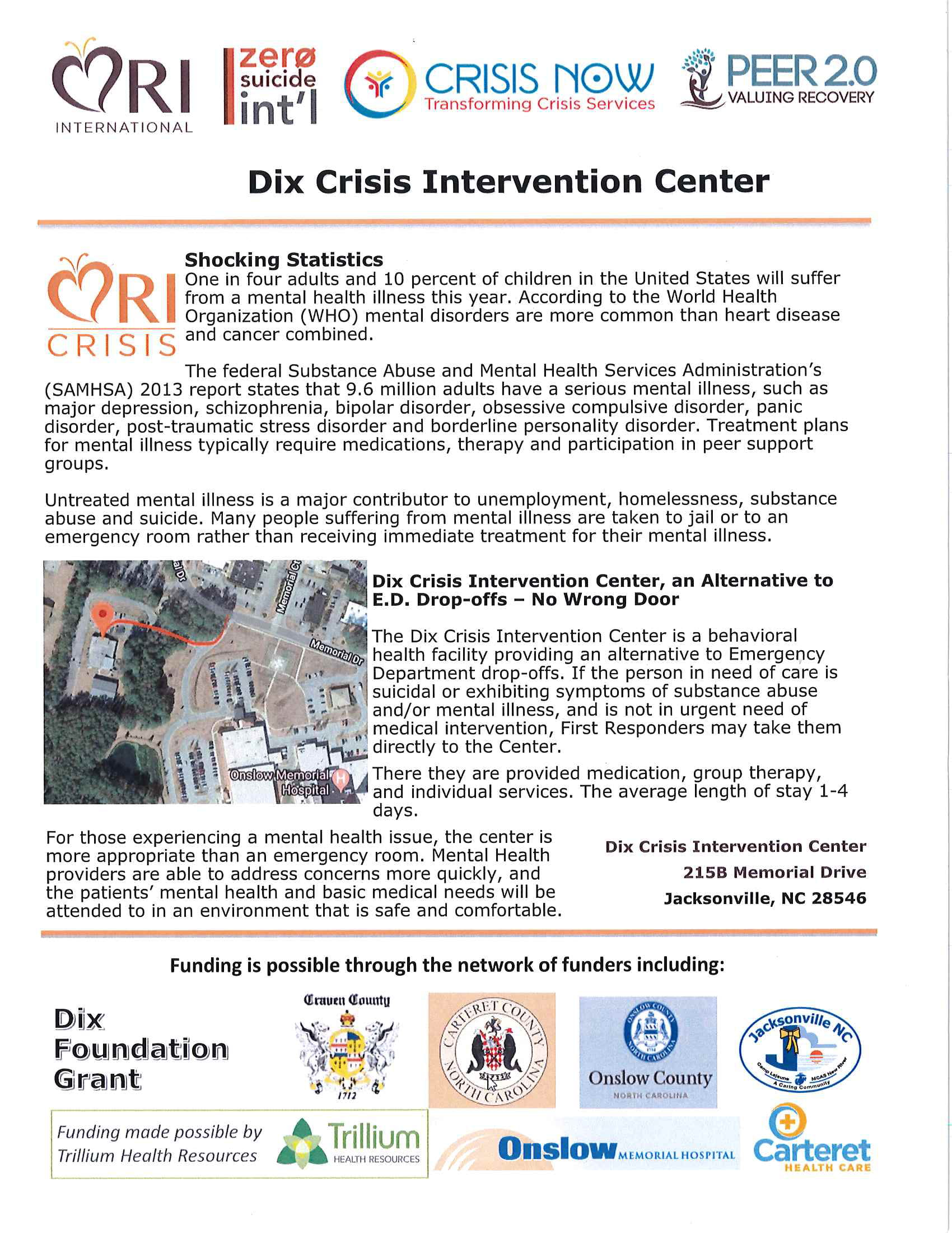 Dix Crisis Center Intervention Handout